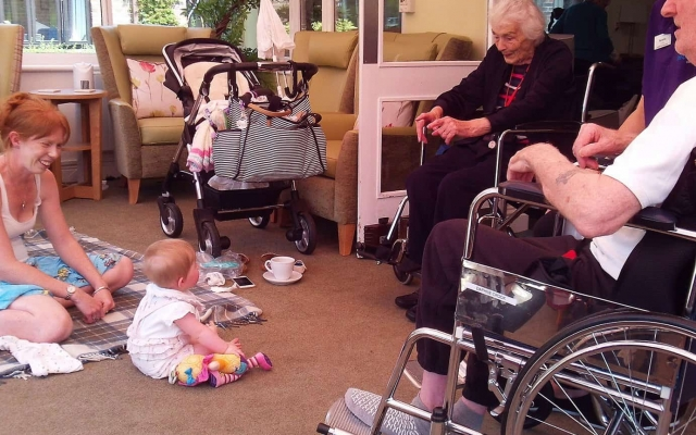 Westbank proud to open Kent's first intergenerational playgroup