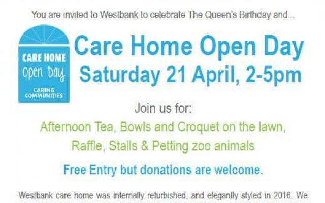 Care Home Open Day with a Royal Twist