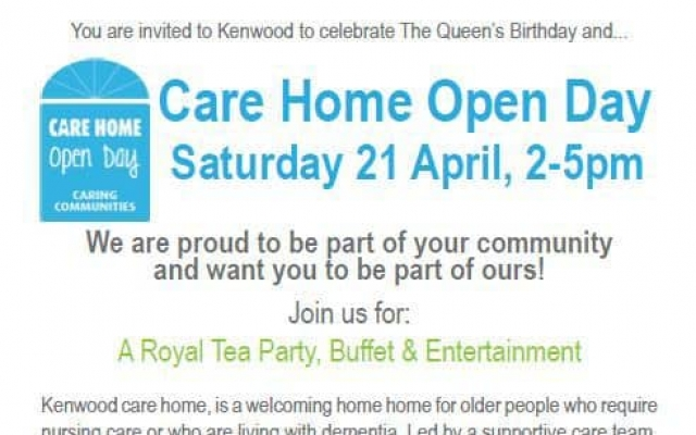 A Royal Care Home Open Day at Kenwood
