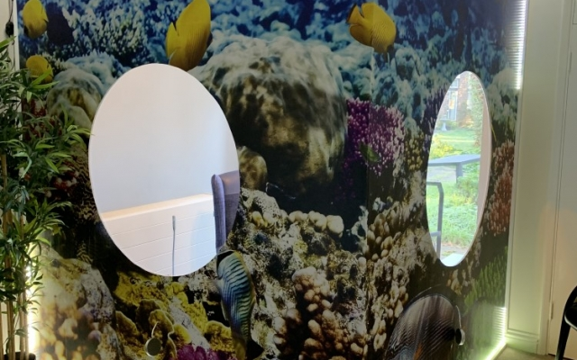 Visitor Pods at New Century Care